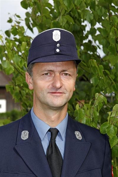 Josef Ertl, 1. Kommandant der Freiwilligen Feuerwehr Herrnhausen