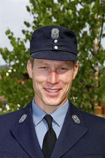 Sebastian Urban, stellvertretender Vorsitzender der Freiwilligen Feuerwehr Herrnhausen