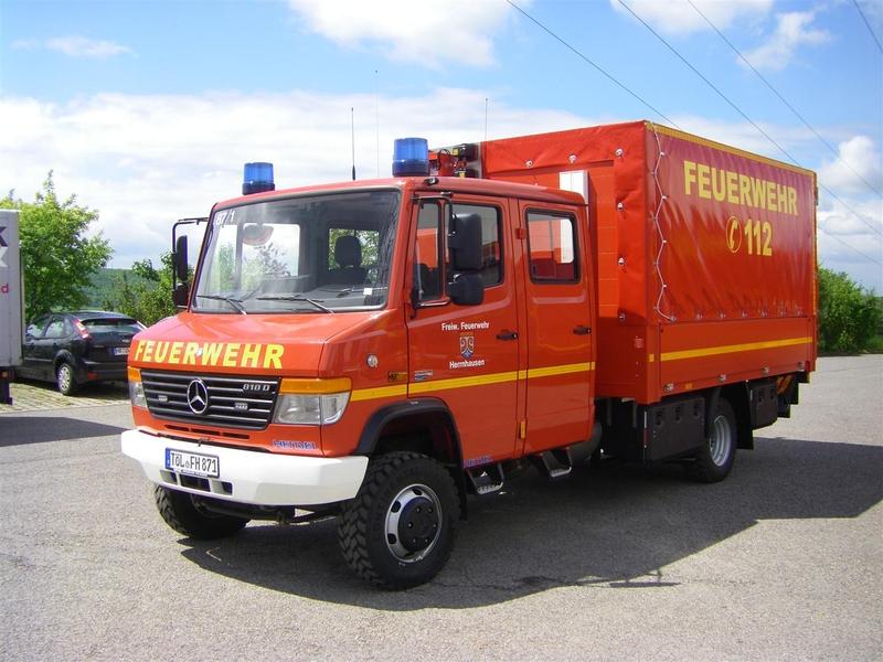 Versorgungs-LKW der Freiwilligen Feuerwehr Herrnhausen