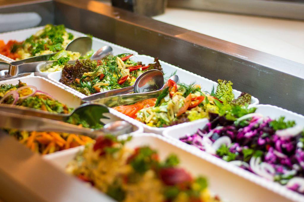 Salat- und Sushibar