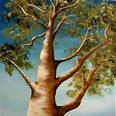 Der Baum 50x50cm, 10/2019
