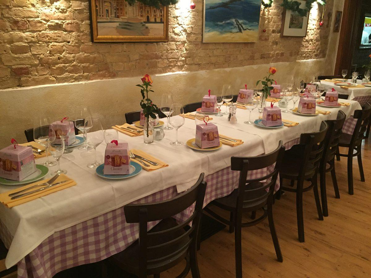 Focaccino Trattoria - Italienisches Restaurant in Berlin-Charlottenburg