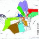 Kartenblatt 3 Lage der Höfe im Dorf