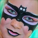 face painting - Fledermaus