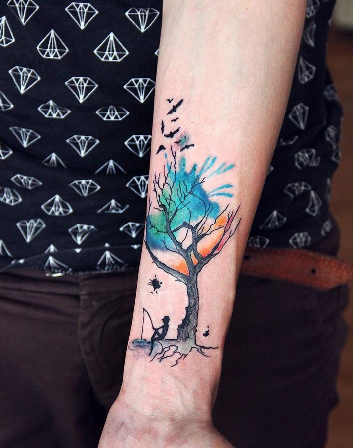messer tattoo bedeutung totenkopf mit messergabel und einer kochmtze das tattoo u welche. Black Bedroom Furniture Sets. Home Design Ideas