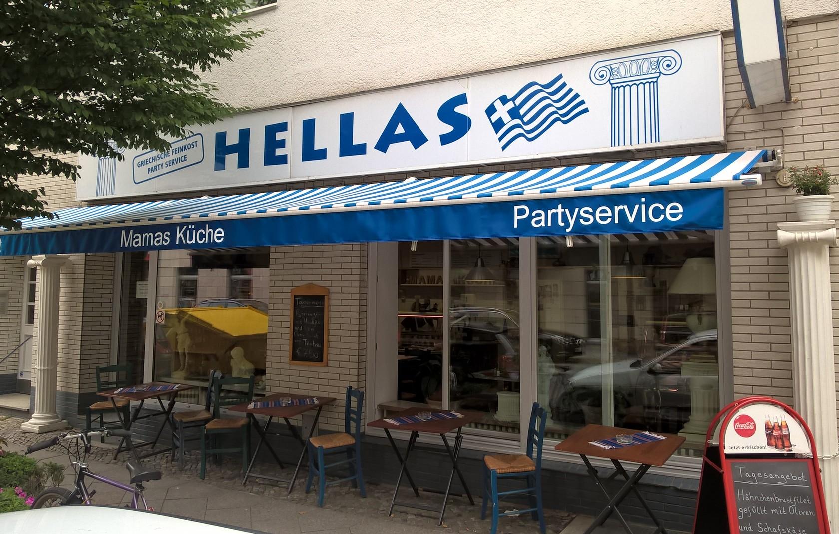 Hellas Feinkost - Grieschisches Restaurant in Berlin Charlottenburg