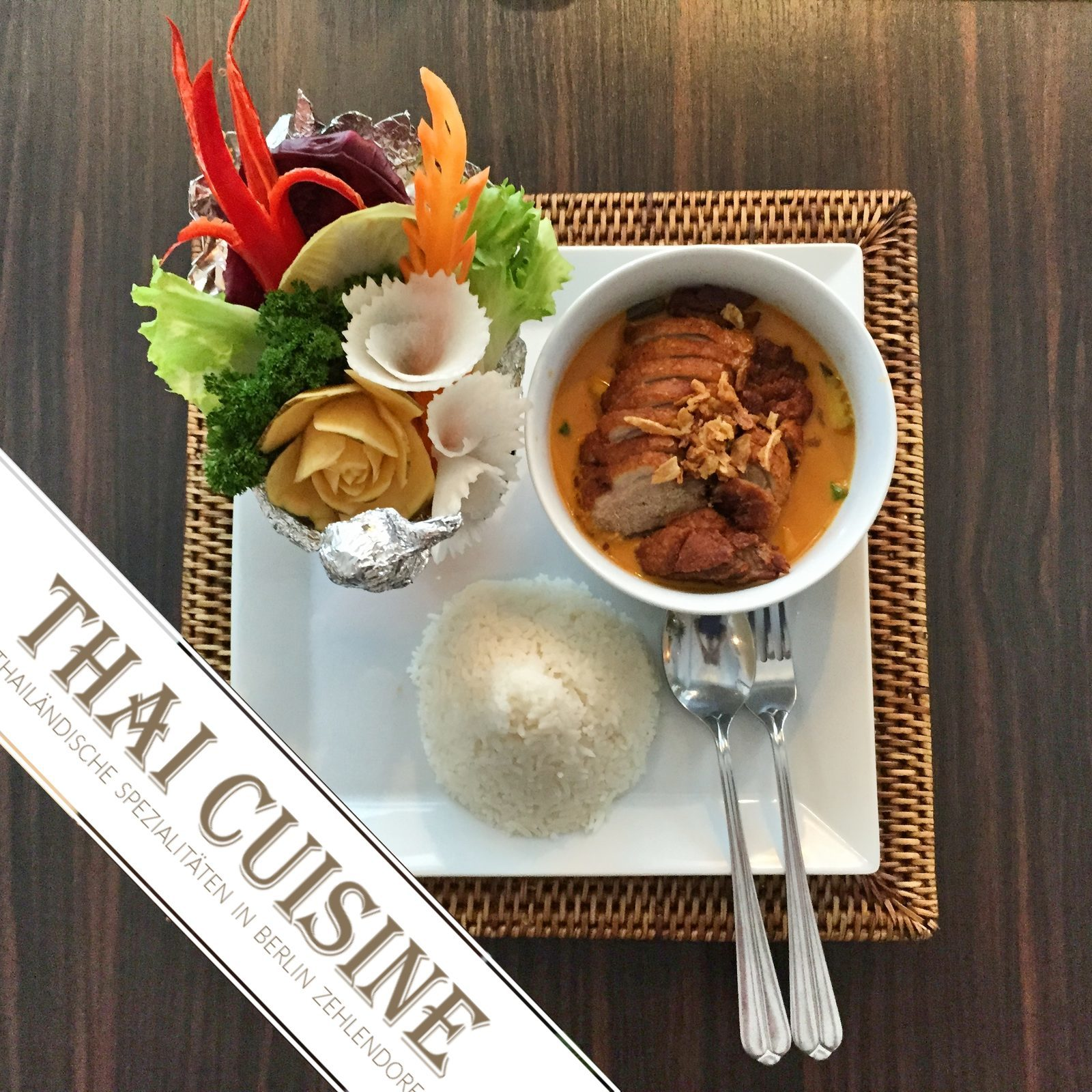 Thai Cuisine Berlin Zehlendorf - The Taste Of Thailand