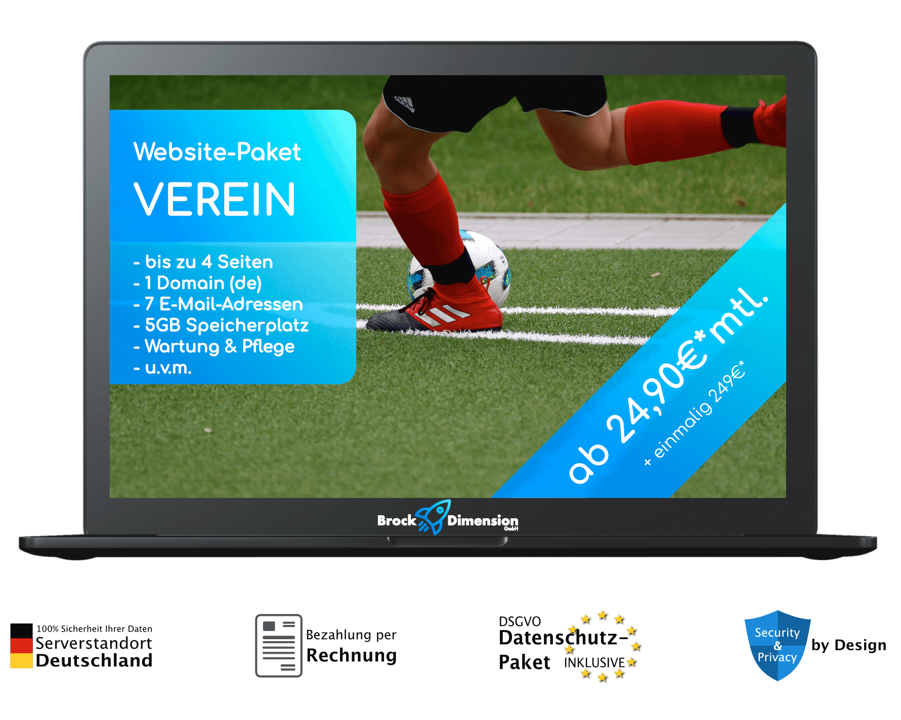 Website Paket Verein