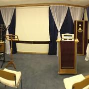 Die messianische Synagoge Beit Moriyah kurz vor der Einweihung