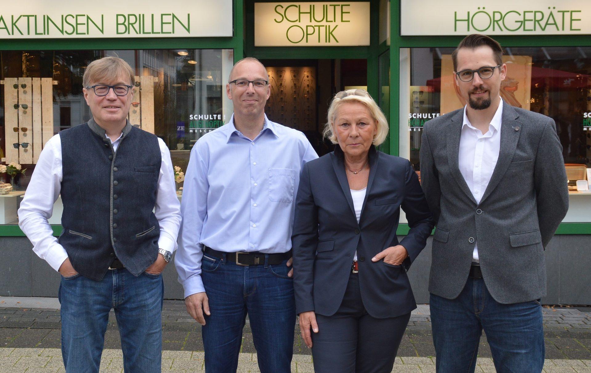 Das Team von Schzlte Optik in Meschede