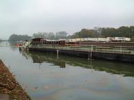 Kohlefrachter im Mittellandkanal
