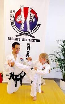 Karate Training im Vorschulalter