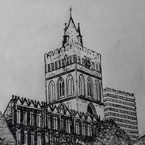 Marienkirche und Oderturm