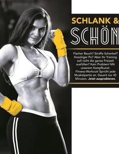 Fitness für Frauen neben Karate