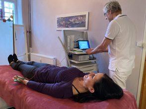 Aufnahme eines EKGs