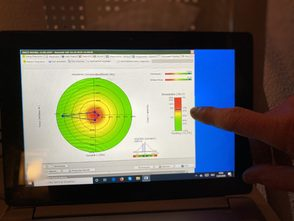Polardiagramm der HRV-Analyse