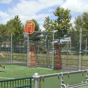 Basketballplatte: einfach oder doppelt ... www.borges-outdoor.de