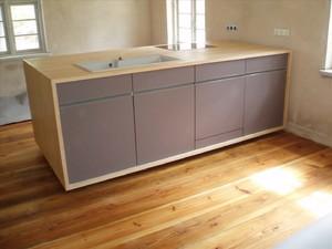 Küchenmöbel nach Maß-Küche Holzparkett