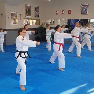 Gruppentraining für Erwachsene im Kampfkunsttempel Jena