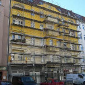 Fassadenarbeiten Gerichtstraße Hostel