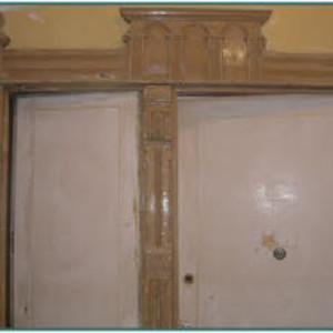 Restaurieren von alten Türen (Vorher)
