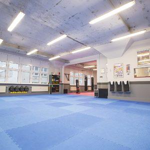 Trainingsfläche und Herzszück unserer Kampfkunst-Schule