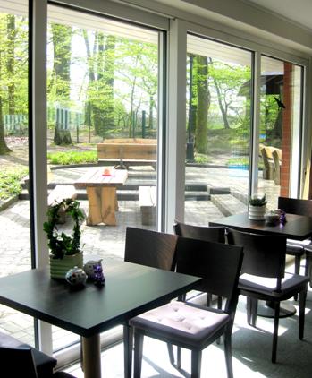 Das Café Heinrich in Emsdetten