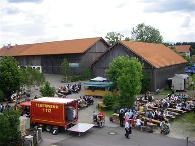 Fahrzeugweihe in Herrnhausen