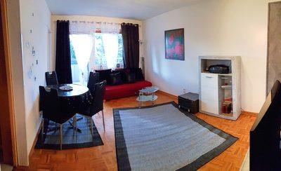 Ferienwohnung Theresia Worms Wohnzimmer