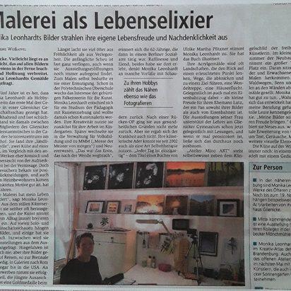Oranienburger Generalanzeiger 06.11.2018