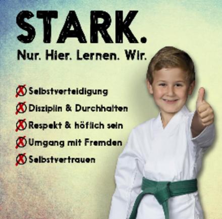 Selbstvertrauen für Heranwachsende durch Karate