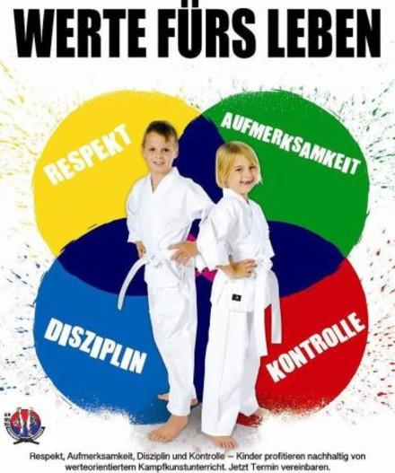 Werte fürs Leben durch Karate