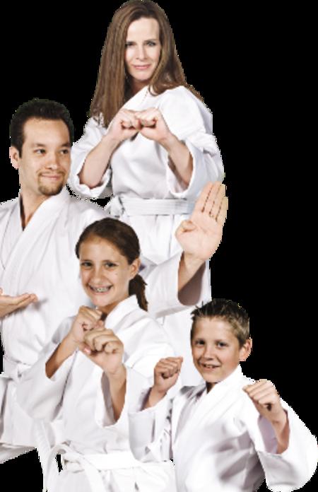 Selbstverteidigung für Frauenschutz und die ganze Familie mit Karate