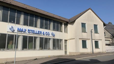 Außenansicht der Firma Max steller & Co. in Halver