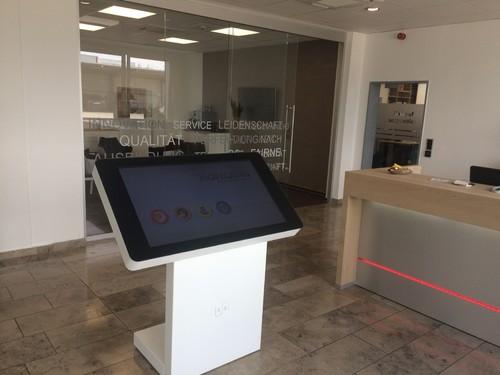 Vermietung von Touchscreens