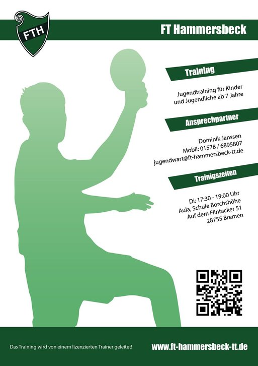 Flyer Jugendtraining