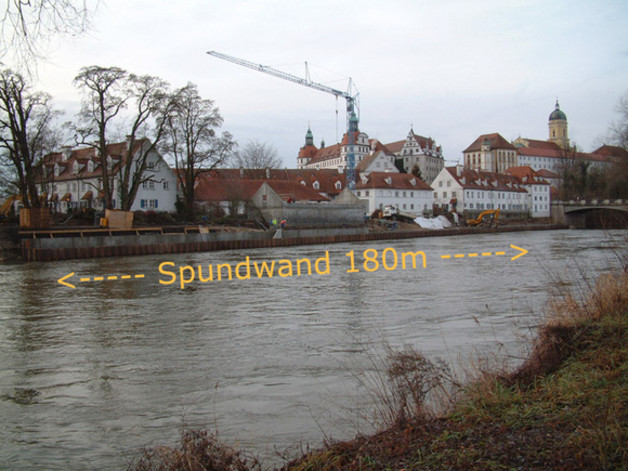 Brennarbeiten in Neuburg a. d. Donau