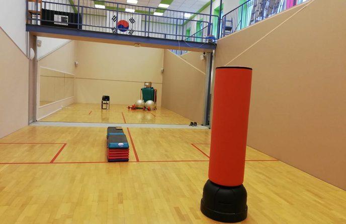 Renovierung der Kampfsport-Schule Stadtroda