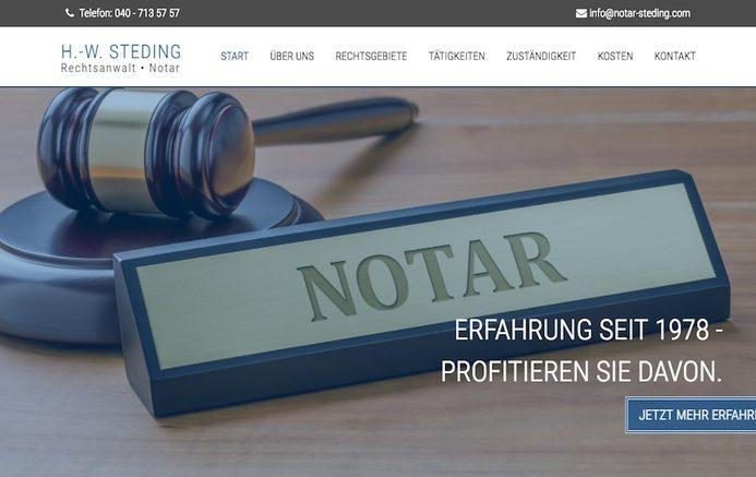 Daten-Websites für Anwälte