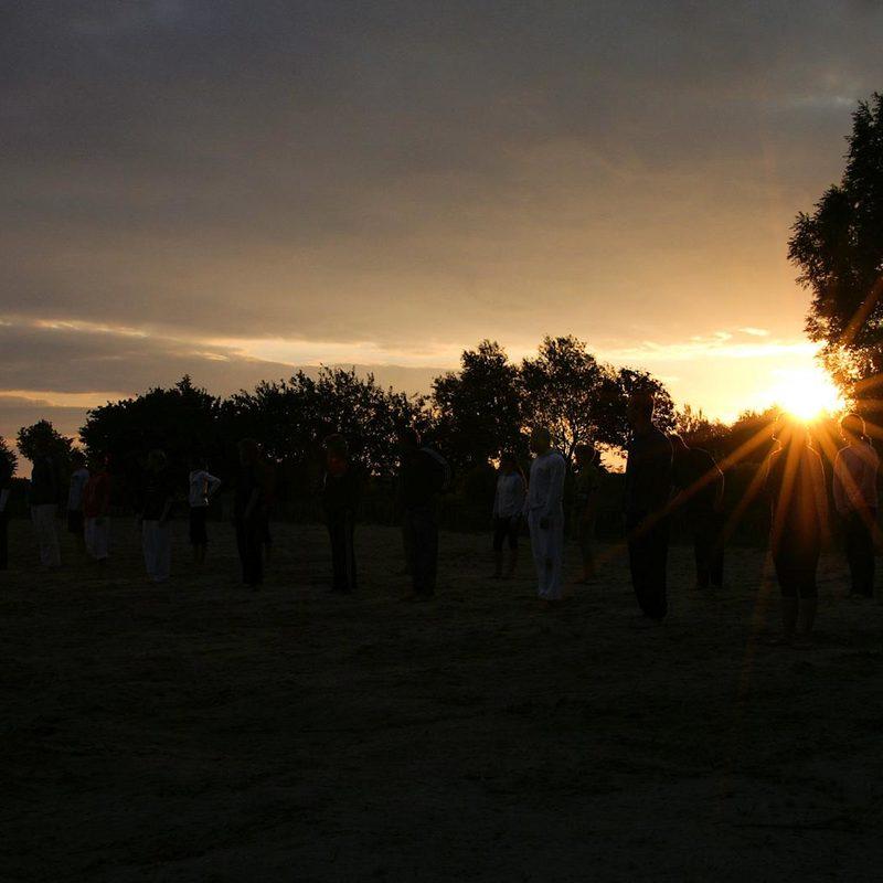 Training bis zum Sonnenaufgang