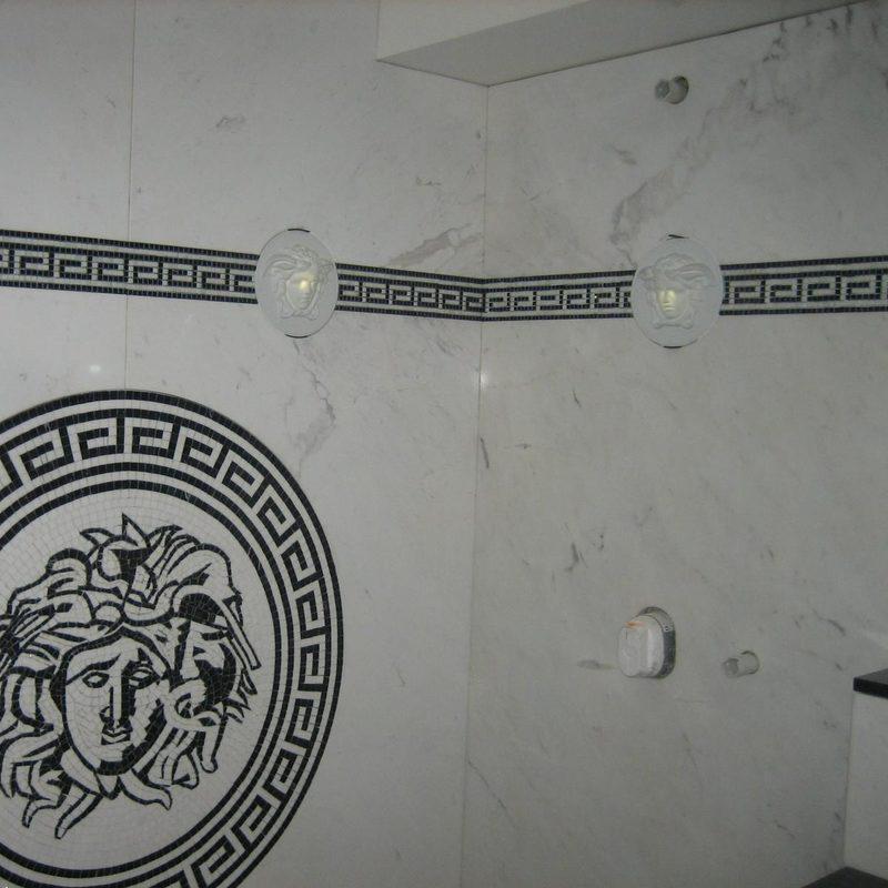 Boden und Wände