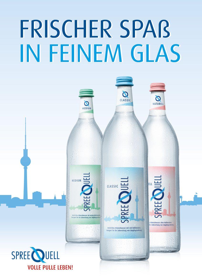 Spreequell Mineralwasser