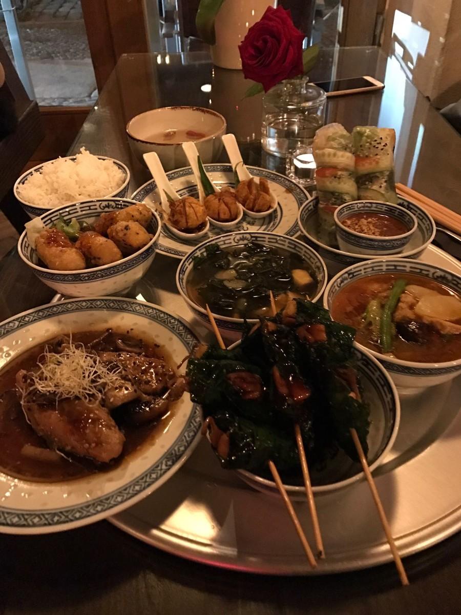 1990 - Vietnamesisches Restaurant in Berlin Friedrichshain