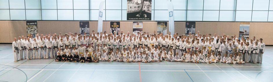 Unser Team zum Kampfsport-Bundeslehrgang in Eisenberg