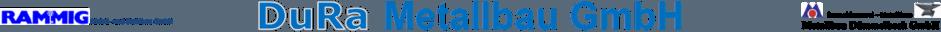 DuRa Metallbau Logo