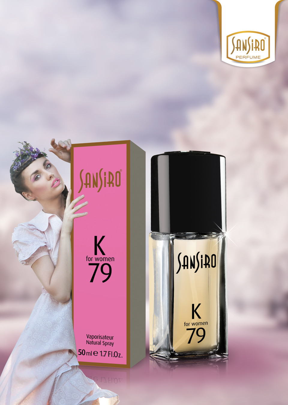 Sansiro Perfume - For Women - Pares (K79)