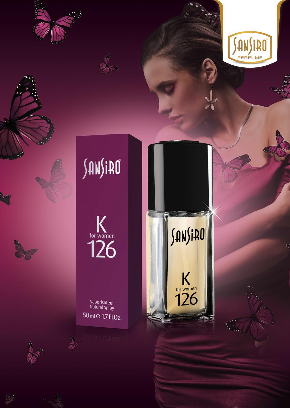 Sansiro Perfume - For Women - Eifor Woman (K126)