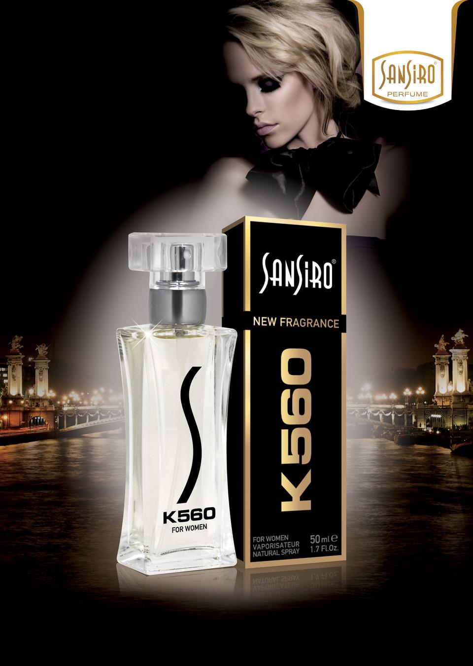 Sansiro Perfume - For Women - Notte (K560)