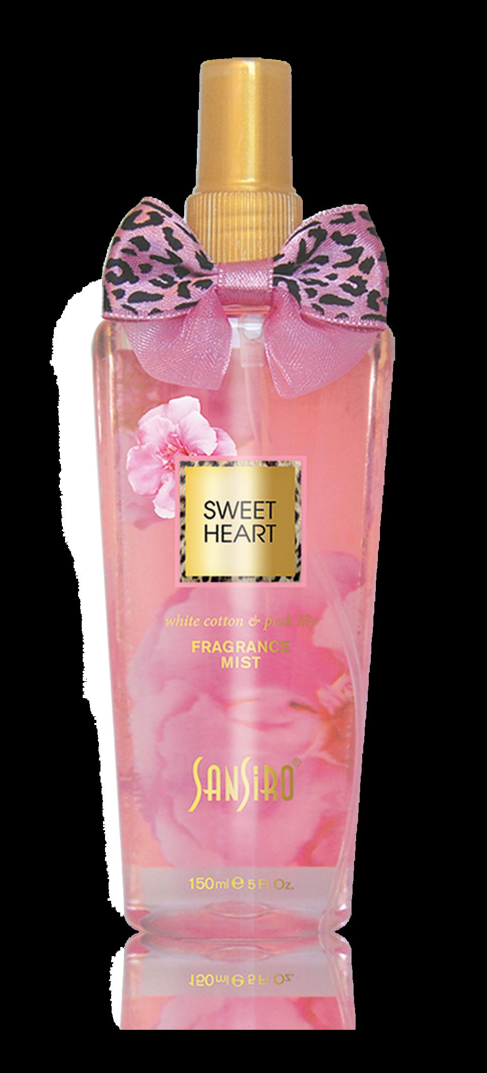 Sansiro Perfume - Body Splash - Fragrance Mist - Sweet Heart