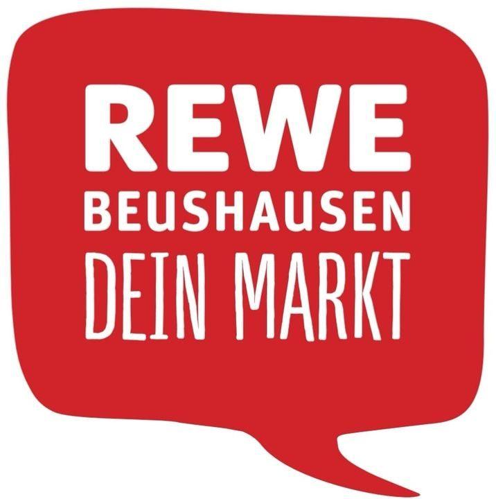 Rewe Beushausen Logo Sprechblase